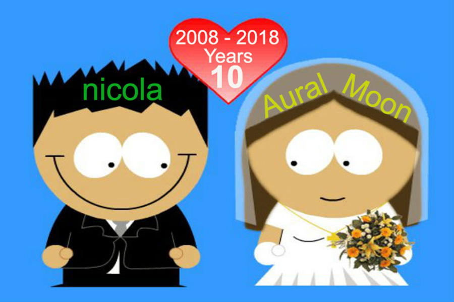 Anniversario Matrimonio Dieci Anni.2008 2018 Aural Moon Progressive Rock Discussion